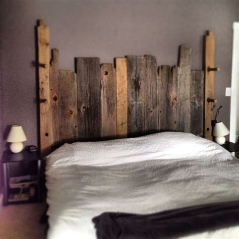 barn siding headboard reclaimed headboard made from 100 reclaimed wood the end