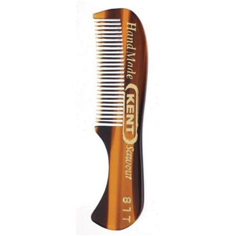 Kent The Handmade Comb - kent the handmade comb 73 mm toothed moustache and