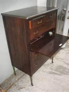 vintage simmons steel dresser metal chest industrial 1940
