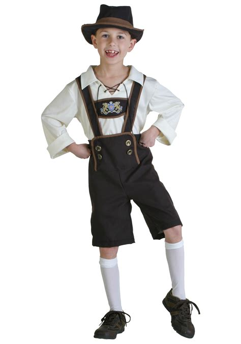 lederhosen boy costume