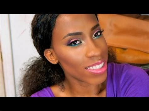 best makeup tips for wonen in 70 eyes on the 70s spring makeup tutorial for black women