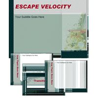 escape velocity template escape velocity powerpoint template animation factory