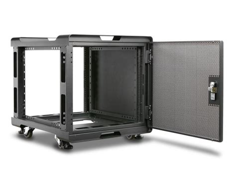 ws 1070b a 10u 700mm depth audio rackmount cabinet