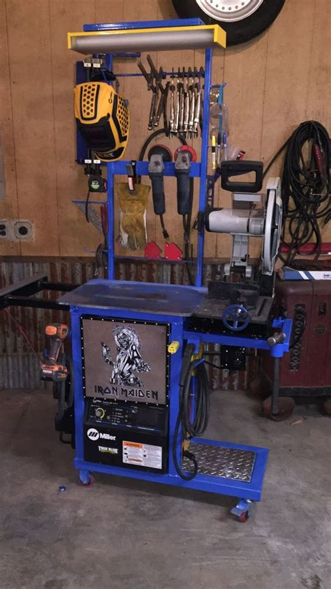 metal fabricating equipment storage and 537 best garage ideas images on garage storage lumber rack and woodworking