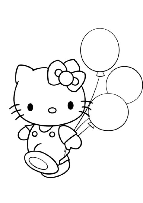 kitty coloring pages print printables coloring print large