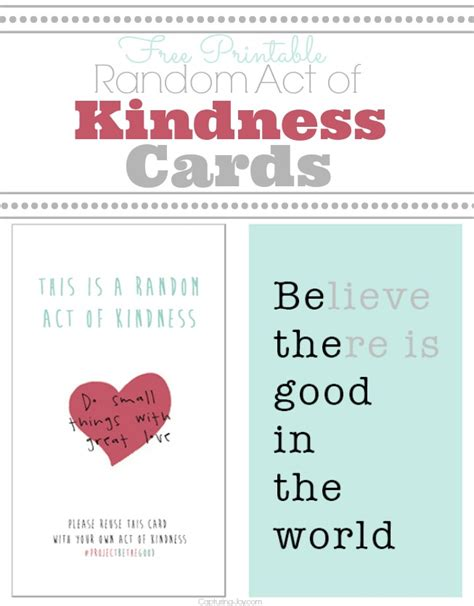 printable images of kindness kindness printables craftbnb