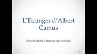 Resume L Etranger De Camus by R 233 Sum 233 De L Etranger De Camus