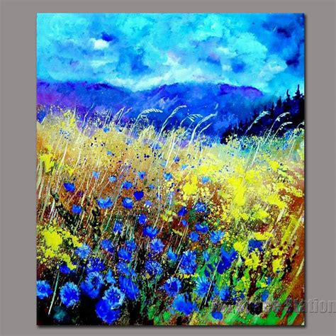 free painting of image gallery nature canvas