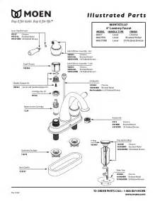 moen kitchen faucet parts diagram moen plumbing product 84437 user s guide manualsonline