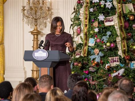 michelle obama white house christmas designers photo page hgtv