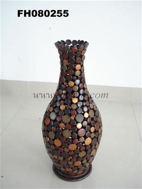 iron metal craft flower vase home decoration 1 crafts