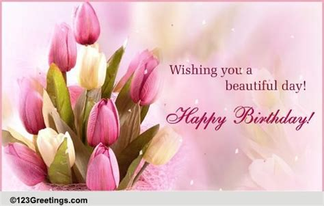 Pictures Flowers For Birthday Cards Birthday Flowers Cards Free Birthday Flowers Ecards