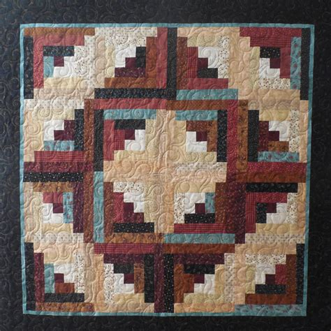 Cabin Raising Quilt by Kiddy Quilts Bragging Rights