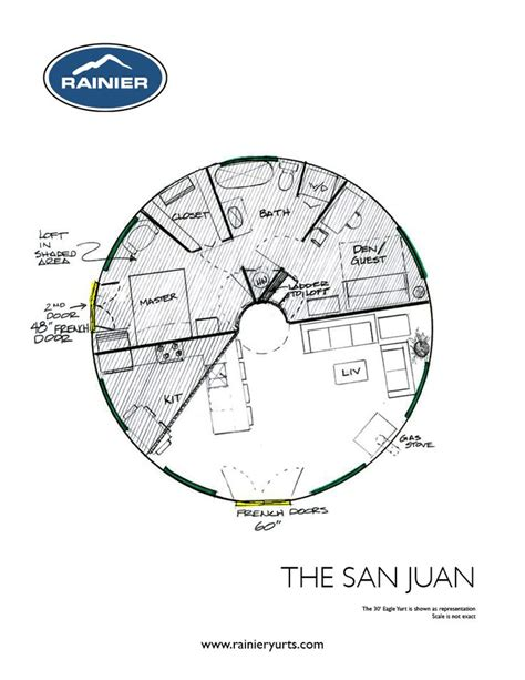 yurt floor plans interior thesanjuan homesteading yurt pinterest