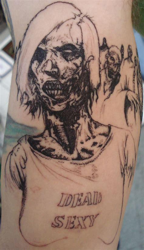 tattoo girl zombie zombie girl tattoo by bobross2 on deviantart