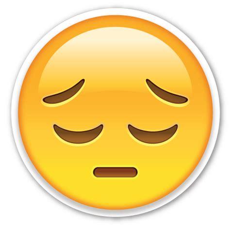 imagenes de un emoji triste pensive face