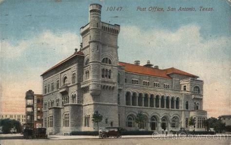 Post Office San Antonio by Post Office San Antonio Tx Postcard