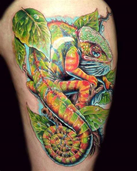 tattoo camo colors camouflage your skin with chameleon tattoos 171 tattoo