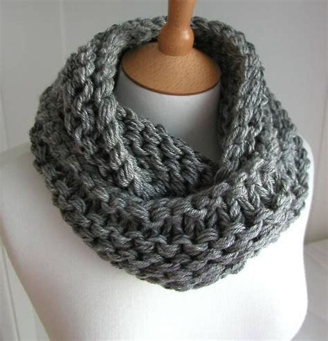 knitting pattern scarf circular needle another chunky cowl knitting with fat yarn big