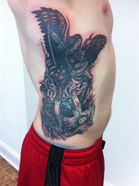 archangel michael tattoo tattoos pinterest