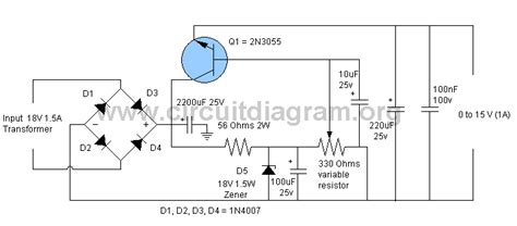 Pcb 0 15v 3a Power Supply Saturn S 027 simple 0v to 15v 1a adjustable power supply circuitdiagram org