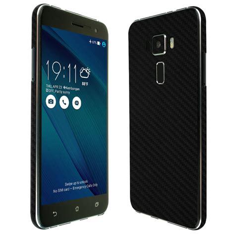 Asus Zenfone 3 Ze520 Kl skinomi techskin asus zenfone 3 black carbon fiber skin