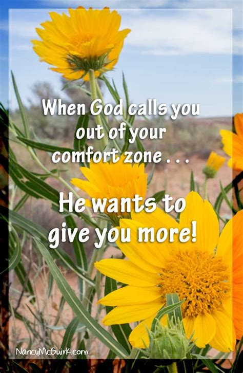 spiritual comfort zone quot when god calls you out of your comfort zone he