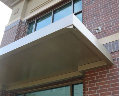 Metal Awning by Commercial Metal Awnings Canopies Canopy Replacement
