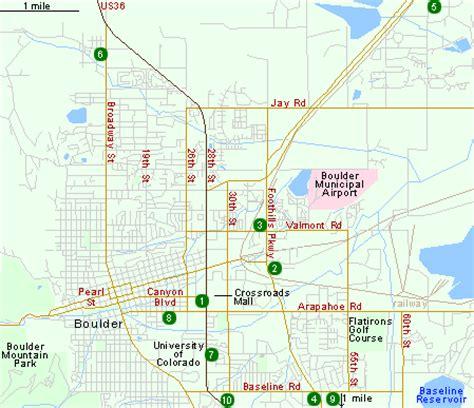 map of boulder colorado hotels in boulder co colorado hotels