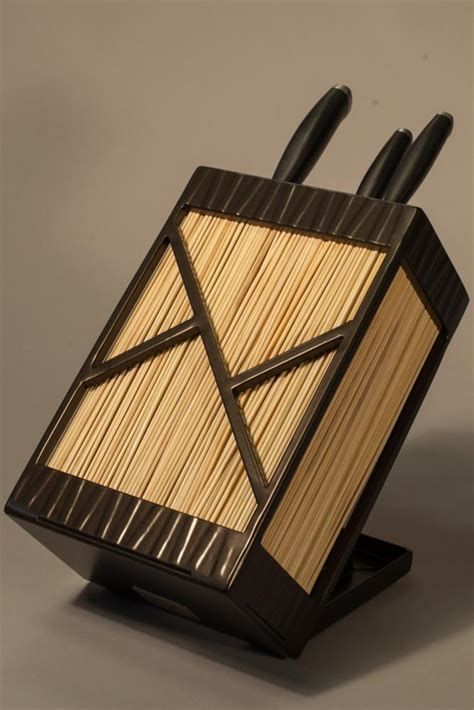 custom knife blocks knife blocks by terrasteel furniture design