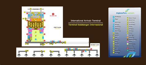 layout bandara ngurah rai new terminal is there an internal map available yet