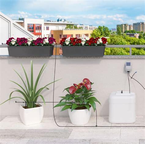 irrigazione automatica vasi irrigatore automatico per piante fioriere ed orto aqua
