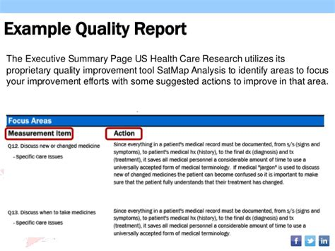 quality improvement report template cahps hospice survey utilizing results to improve
