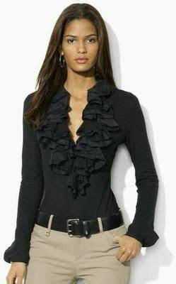 pin de martha kokorin em siempre negro em  blusas