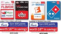 Rite Aid Gift Card Selection - rite aid gift cards earn plenti bonus points gift cards no fee