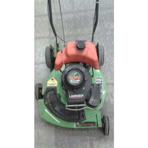 lawn boy commercial duty lawn mower  hp model