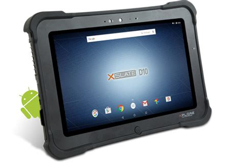 rugged android tablet xslate d10 rugged tablet pc fully rugged xplore technologies