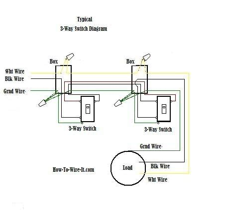 three way switch schematic diagram wiring diagram and