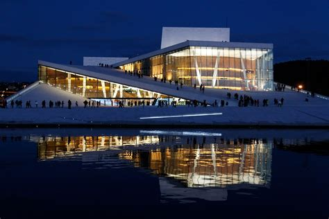 oslo opera house snohetta s design for the oslo opera house
