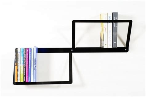 minimalist steel bookshelf duo bookshelf by