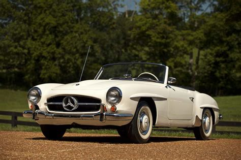 sheryl to auction 1959 mercedes 190 sl for