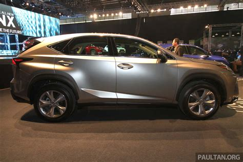 lexus nx malaysia lexus nx launched in malaysia from rm299k rm385k image 307918