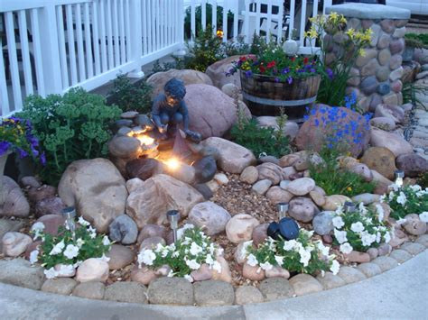 backyard rock garden ideas impressive small rock garden ideas for the home