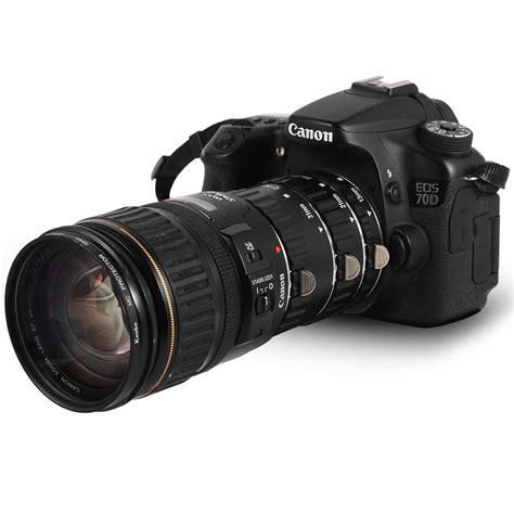Auto Focus Extension Macro Canon Eos Tfp Baru Lensa Kamera macro af auto focus extension set for canon eos 550d 650d 1100d 1200d dc373 ebay