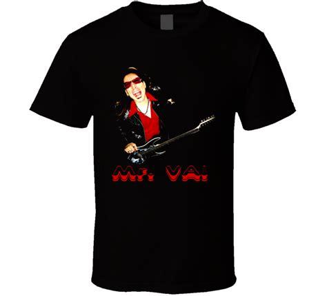 steve vai guitarist rock t shirt