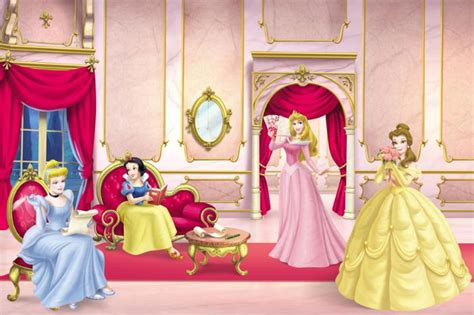 meeting  princesses wallpaper border wallpaper