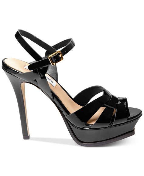 steve madden high heels black steve madden s kananda platform high heel sandals in