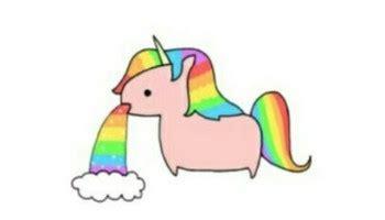 imagenes de unicornios vomitando arcoiris superkawaiiblog vomitando arcoiris