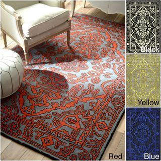 overdyed rugs overstock 17 best images about area rugs on traditional orange rugs and great deals