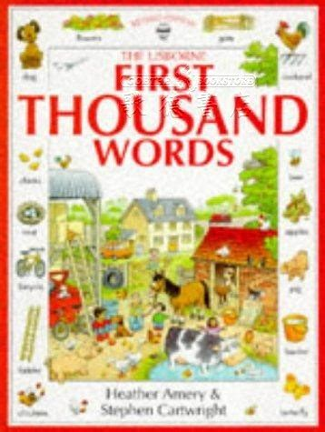 first thousand words in 0746023073 美語教材 first thousand words 全新正版產品 歌德英文書店